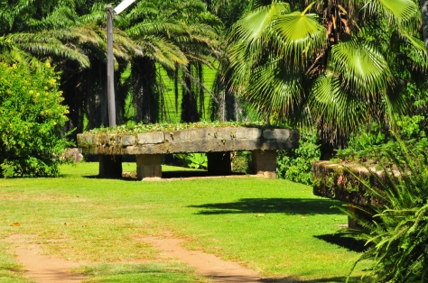 Aberfoyle - bunker from the bush war is now a garden feature