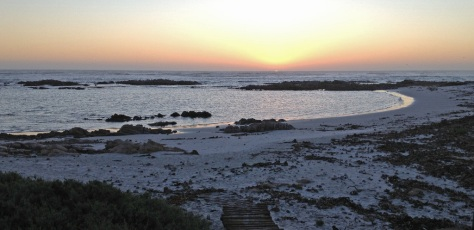 View from the Beach house, Port Nolloth