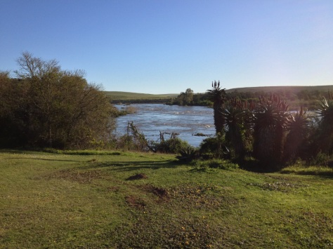Breede River in flood