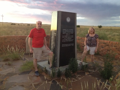 Monument to the Burgers who died at Paardeberg