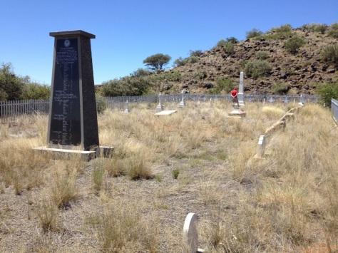 Paardeberg - British cemetery