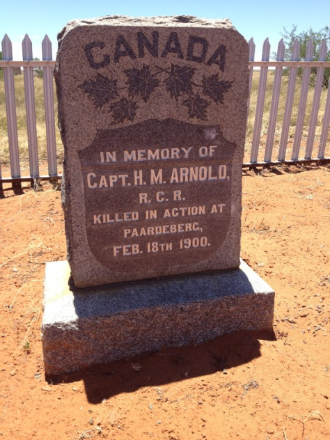 Paardeberg - Canadian cemetery found