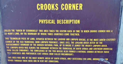 Crook's Corner KNP