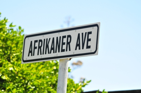 A street name in Kommetjie - named for the flower and not the users