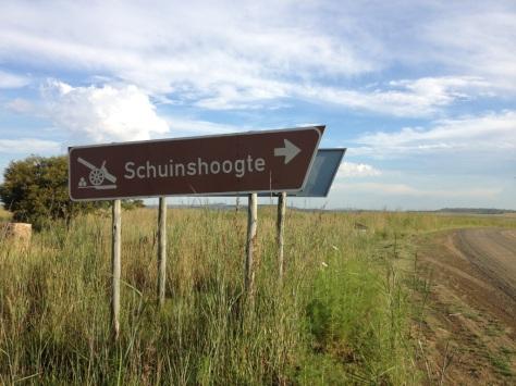 Schuinshoogte battlefield