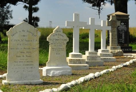 The cemetery at Elandslaagte