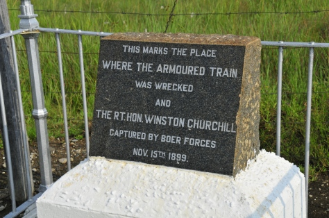 Churchill capture site
