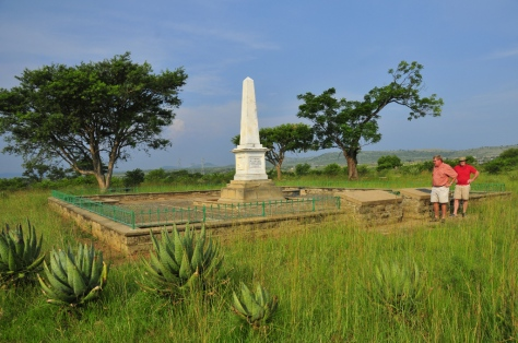 Monument to Burgers attacked by Zulus at Bloukrans (17 February 1838)