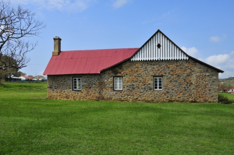 Rorke's Drift - side view of house used as hospital