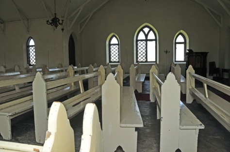 Rorke's Drift - inside the small chapel