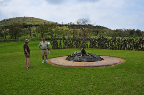 Rorke's Drift - a recent monument