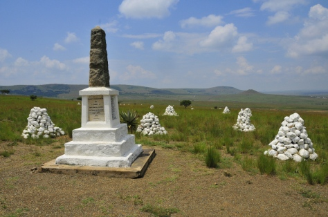 Isandlwana Battlefield - another of the monuments