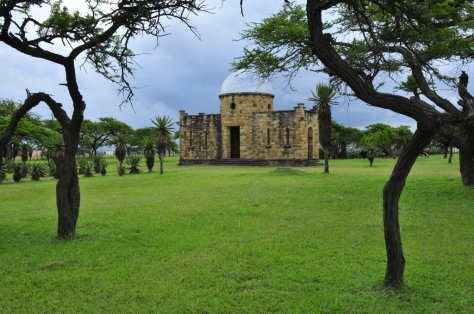 Ulundi Battlefield - the stone building serving as monument