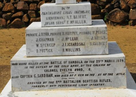 Khambula Battlefield - monument