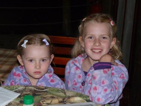 Spotted again - Maia and Megan (Leonardii Mosselbayi)