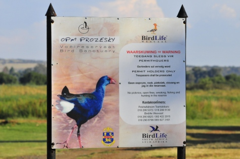 OZM ProZesky Bird Sanctuary Potchefstroom