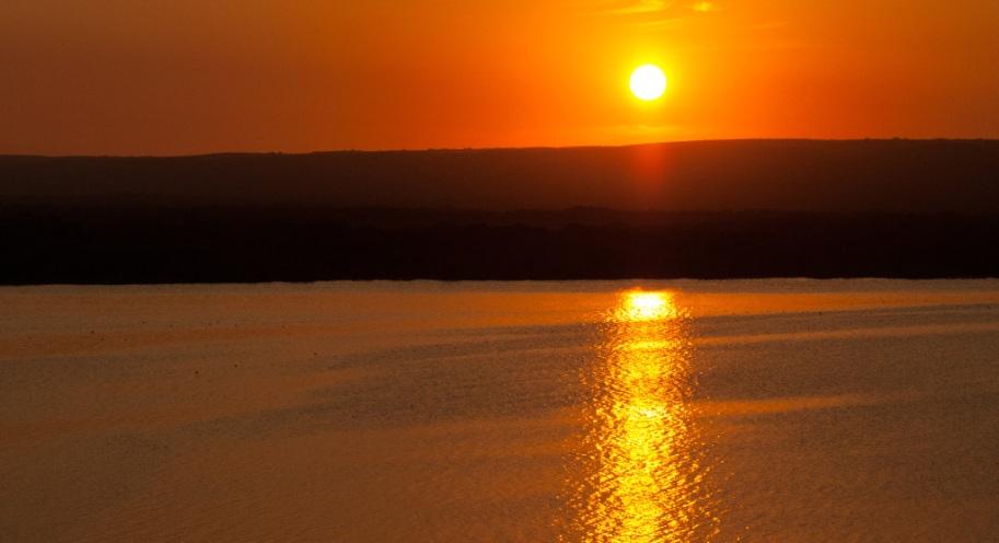 Sunset over De Hoop Vlei
