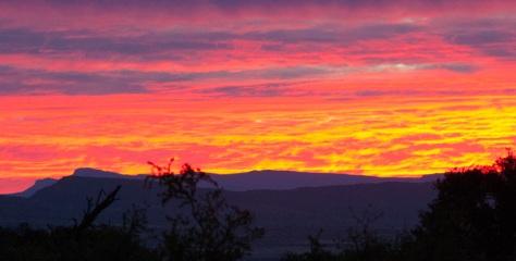 Camdeboo NP - Sunset deluxe