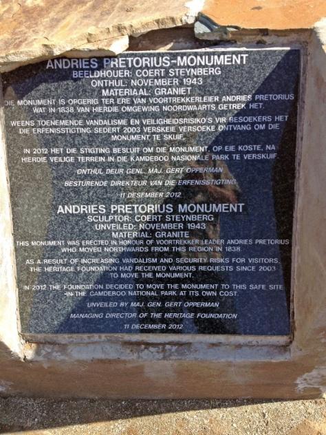 Andries Pretorius monument
