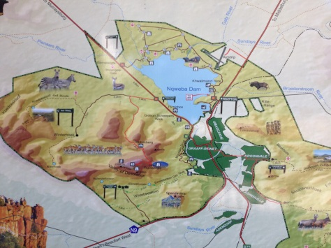 Camdeboo NP map