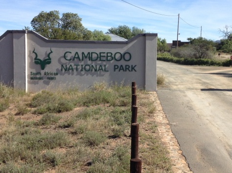 Camdeboo NP - entrance