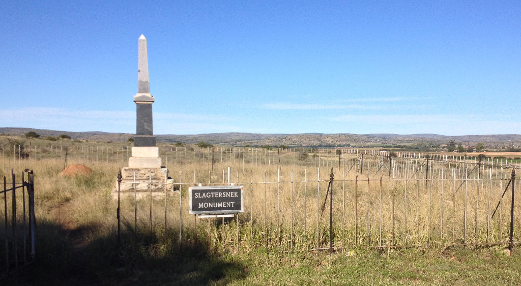 Slagtersnek monument