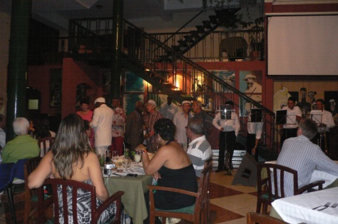 The restaurant frequented by Hemingway in his Havana days
