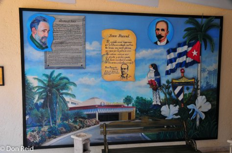 The hotel was opened by Fidel Castro himself back in 1990