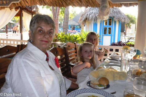 The more formal poolside restaurant served some good Cuban food and local bands added to the vibe