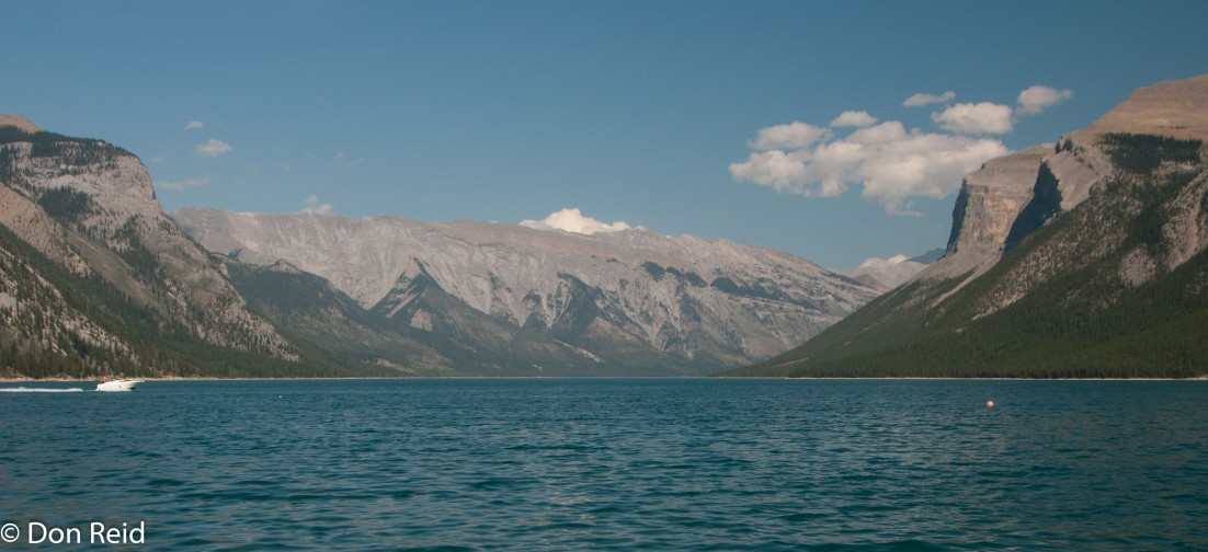 Lake Minnewanka near Banff