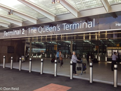 The brand new Queen's Terminal at Heathrow