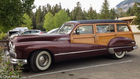 "Someone else's ride - Buick Eight ""Woody"" from the 50's"