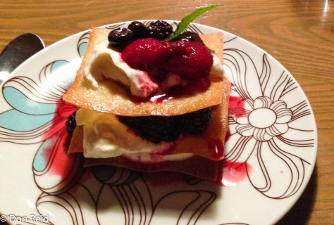 Sarah's delightful dessert