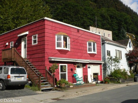 Juneau, Alaska - the back streets