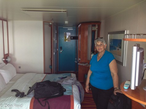 Cabin on Norwegian Pearl