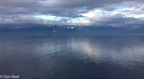 Calmer waters of the Inside Passage