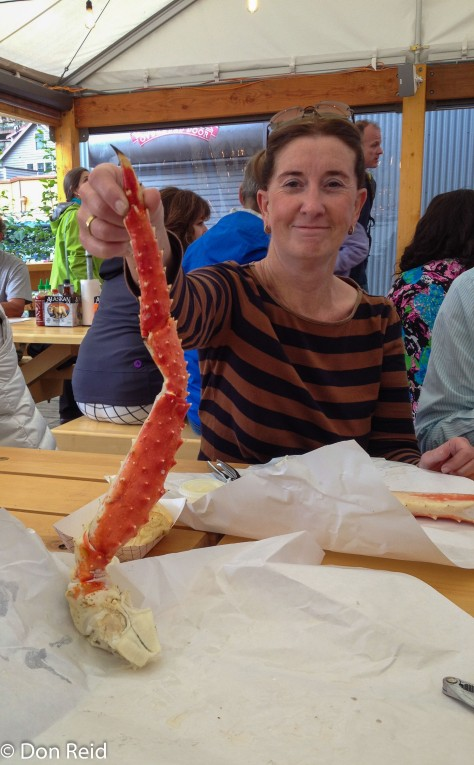 Alaskan King Crab delight