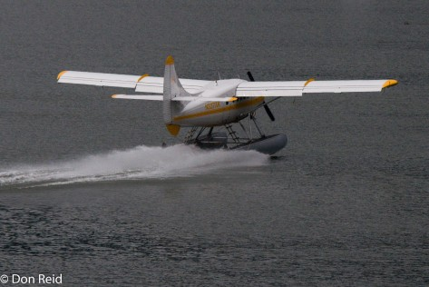 Juneau - seaplanes are popular