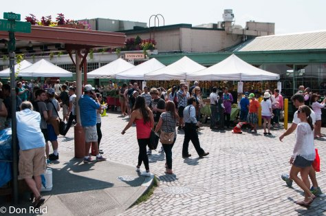 The waterfront market