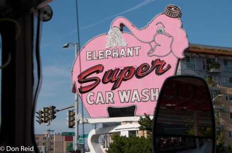 The first car wash in Seattle!