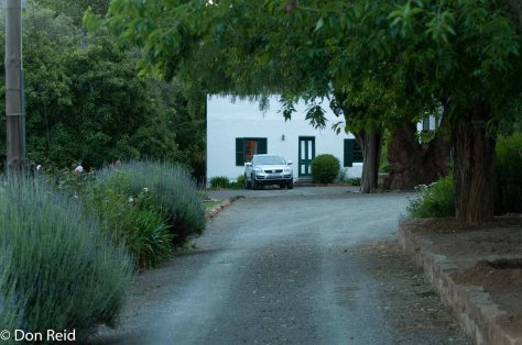 Abbotsbury guest farm near Graaff-Reinet - the cottage we had for our overnight stay