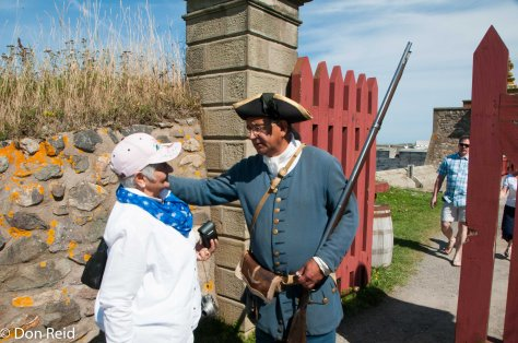 Fortress of Louisbourg - Gerda is suspected of spying!