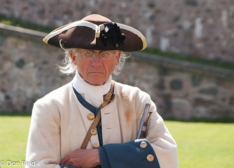 They take re-enactment seriously at Fort Louisbourg