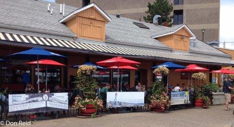 Halifax waterfront - Stayner's Wharf restaurant