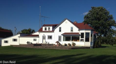 The farm house