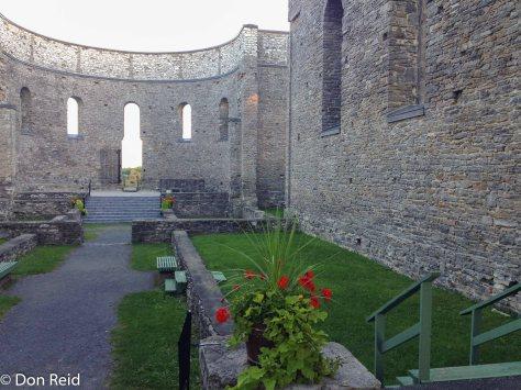St Raphael's Church ruins