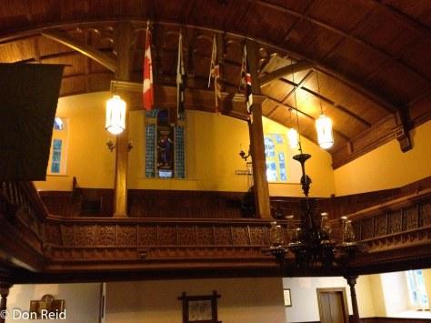 St Andrew's Church inside