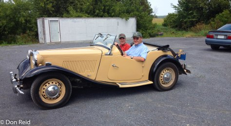 John's lovely little MG TC (1950)