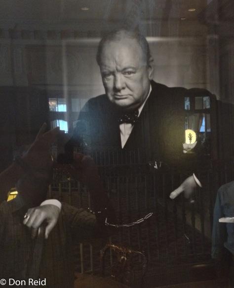 Ottawa - Churchill's photo in Chateau hotel