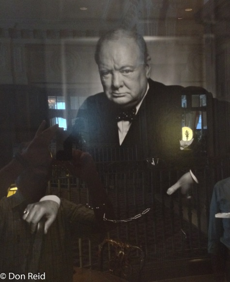 Ottawa - Churchill's photo in Chateau hotel